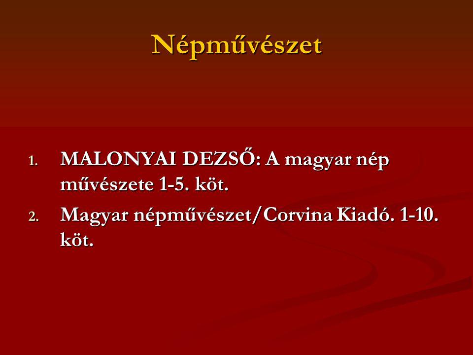 NÉPMESE- TÍPUSKATALÓGUSOK 1.AARNE-THOMSON: The types of the Folktale 2.