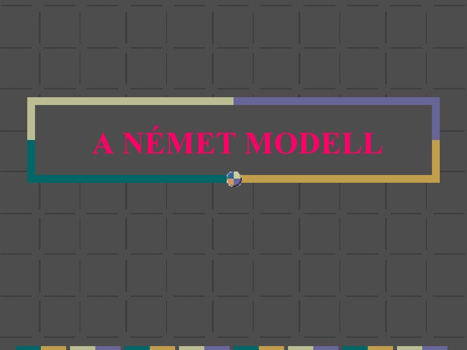 A NÉMET MODELL