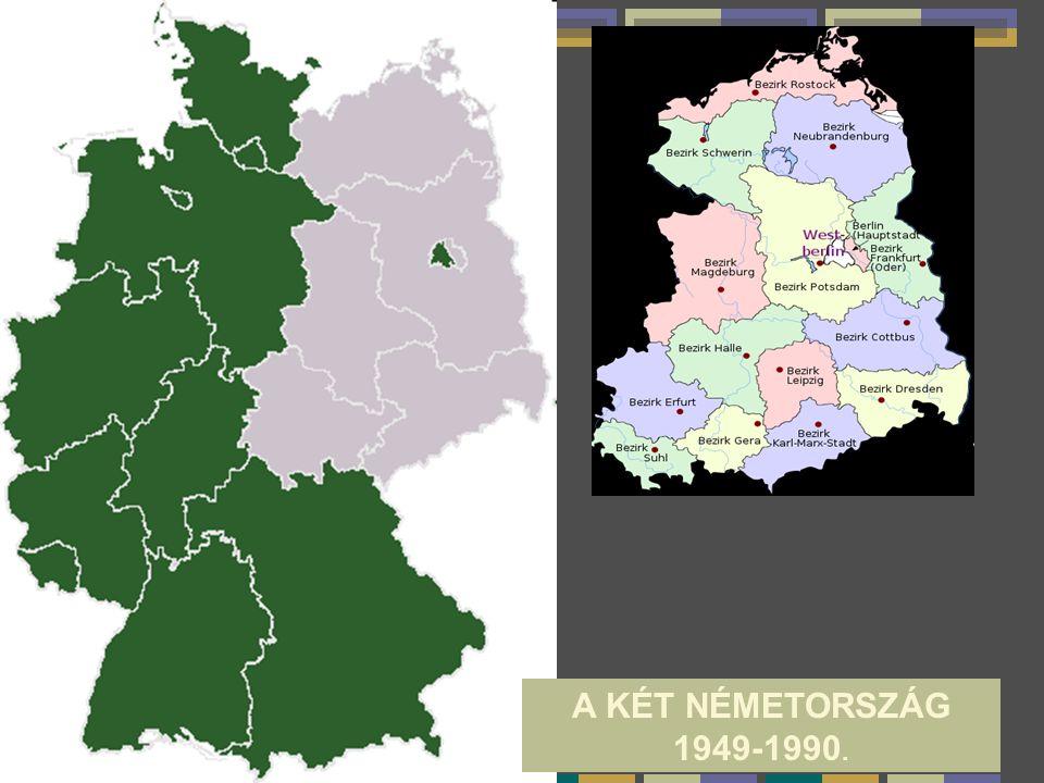 A KÉT NÉMETORSZÁG 1949-1990.