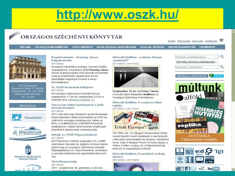 http://www.oszk.hu/