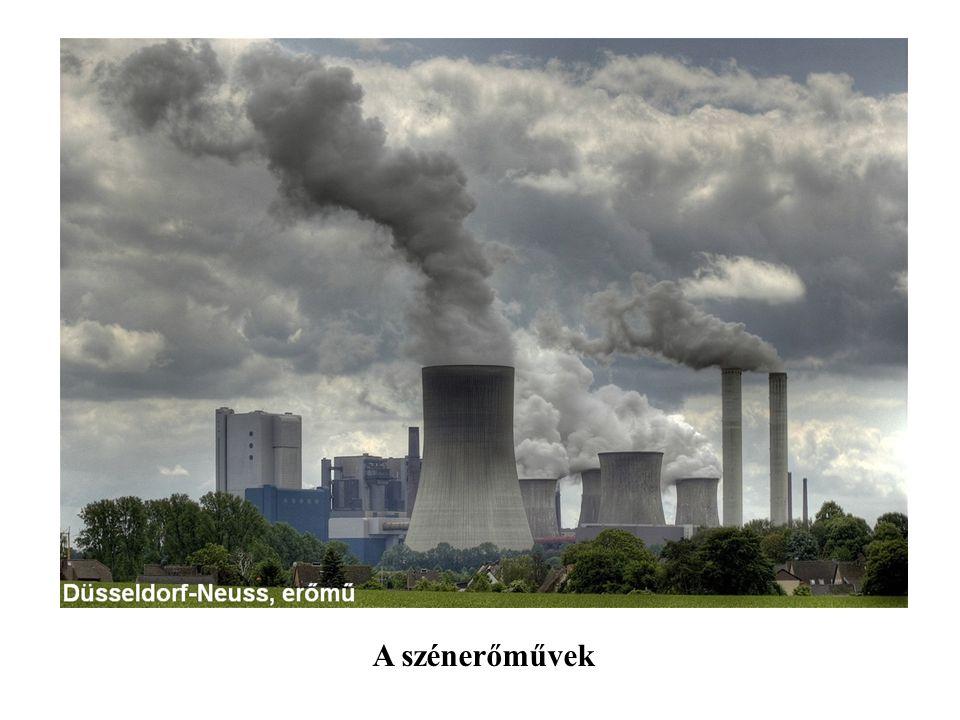 A szénerőművek
