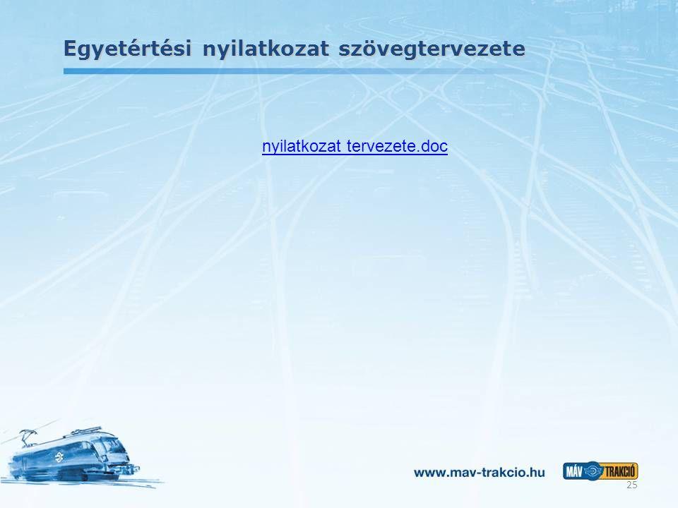 Egyetértési nyilatkozat szövegtervezete nyilatkozat tervezete.doc 25
