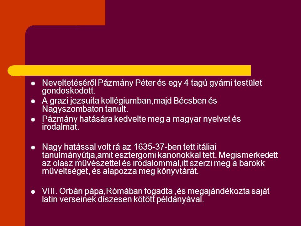 A cselekmény rövid összefoglalásából is kiderülhet az,hogy a szerzőnek egy hihetetlen ellentmondásos állítást(paradox tétel) kell elfogadtatnia olvasóival.(a maroknyi magyar sereg győztesen kerül ki a török túlerővel szemben) A paradox tétel megfelel az ellentétekből felépülő,megharcolt barokk harmóniának is.