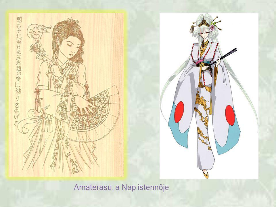 Amaterasu, a Nap istennője