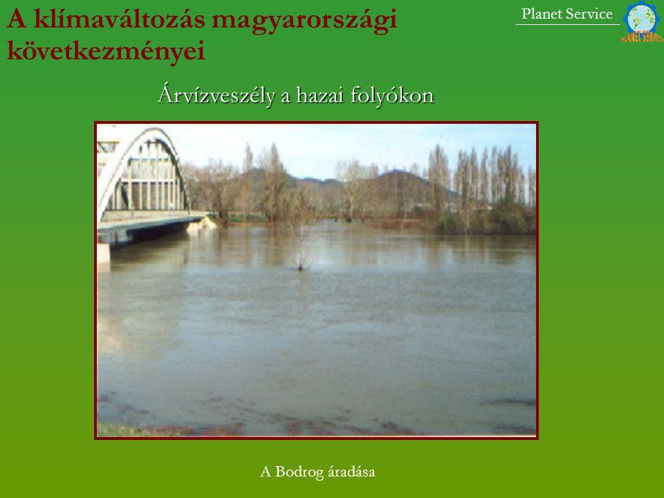 A mi környékünkön a klímaváltozás következményei Kecskemétre lezúduló árvízszerű esőzés: 2003.július 29.