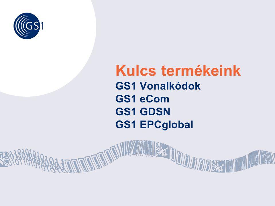 © GS1 Hungary2008 Kulcs termékeink GS1 Vonalkódok GS1 eCom GS1 GDSN GS1 EPCglobal