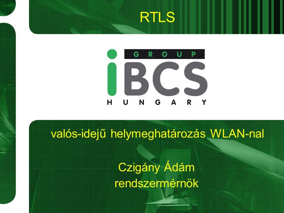 RTLS Czigány Ádám rendszermérnök valós-idejű helymeghatározás WLAN-nal