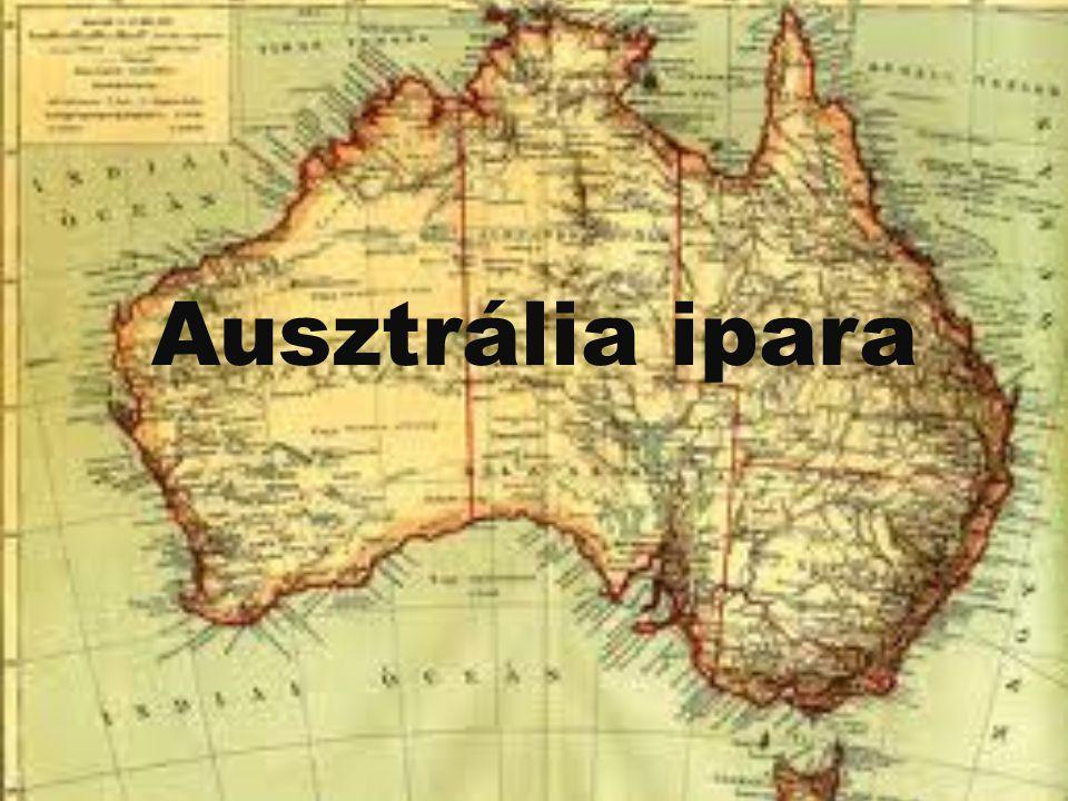 Ausztrália ásványkincsei Ausztráliának jók a földtani adottságai.