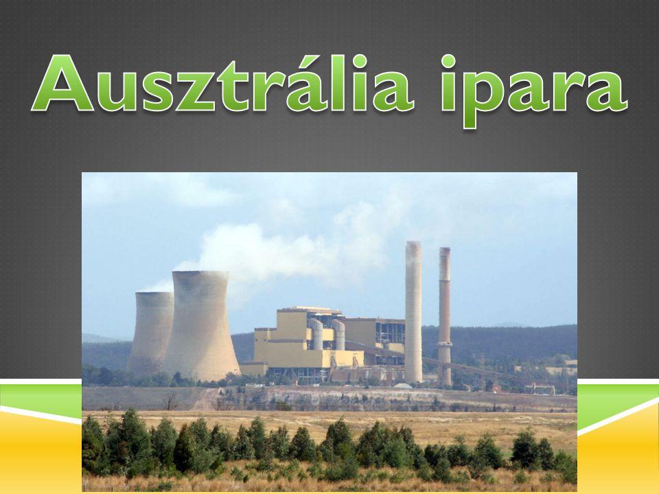 Ausztrália ásványkincs nagyhatalom.