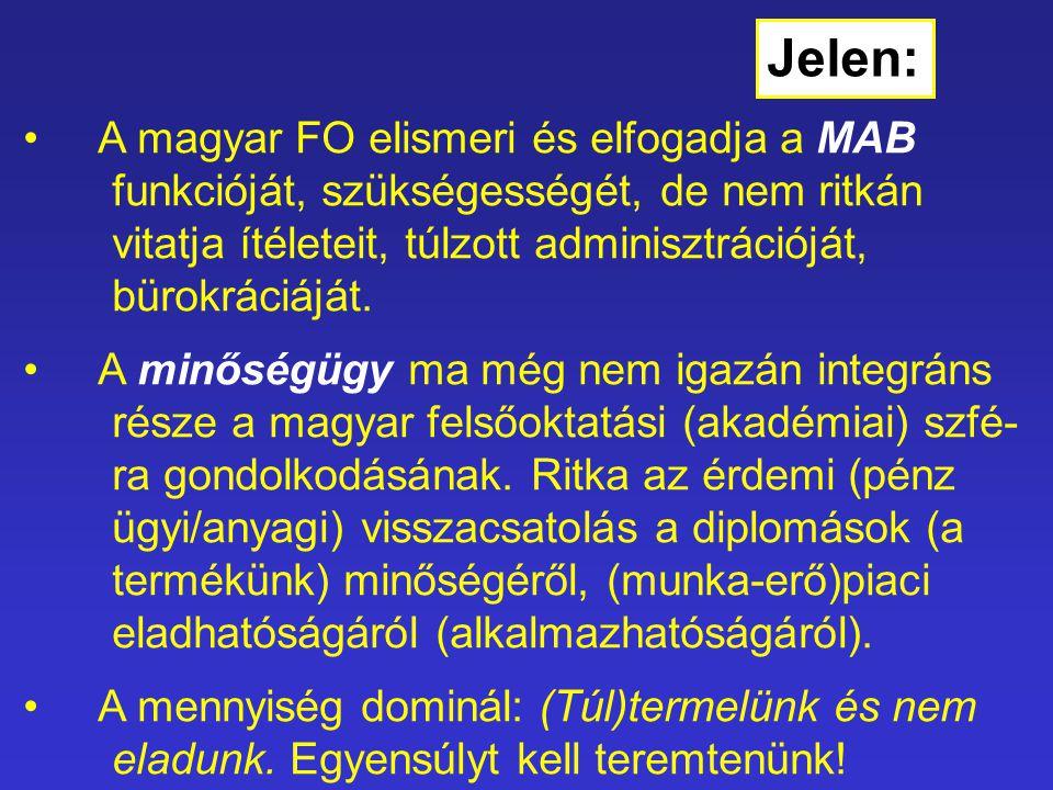 A magyar FO elismeri és elfogadja a MAB funkcióját, szükségességét, de nem ritkán vitatja ítéleteit, túlzott adminisztrációját, bürokráciáját.