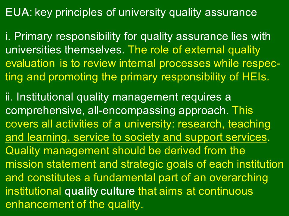 iii.Quality is contextual.