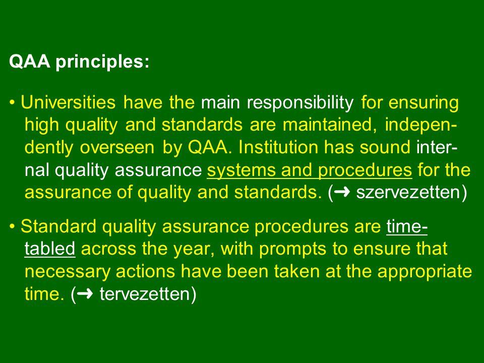 ➜ A MAB hatása a FO minőségére A FOI-k minden tekintetben figyelembe veszik a MAB értékelések normáit és ajánlásait: a beadványokat e szerint készítik.