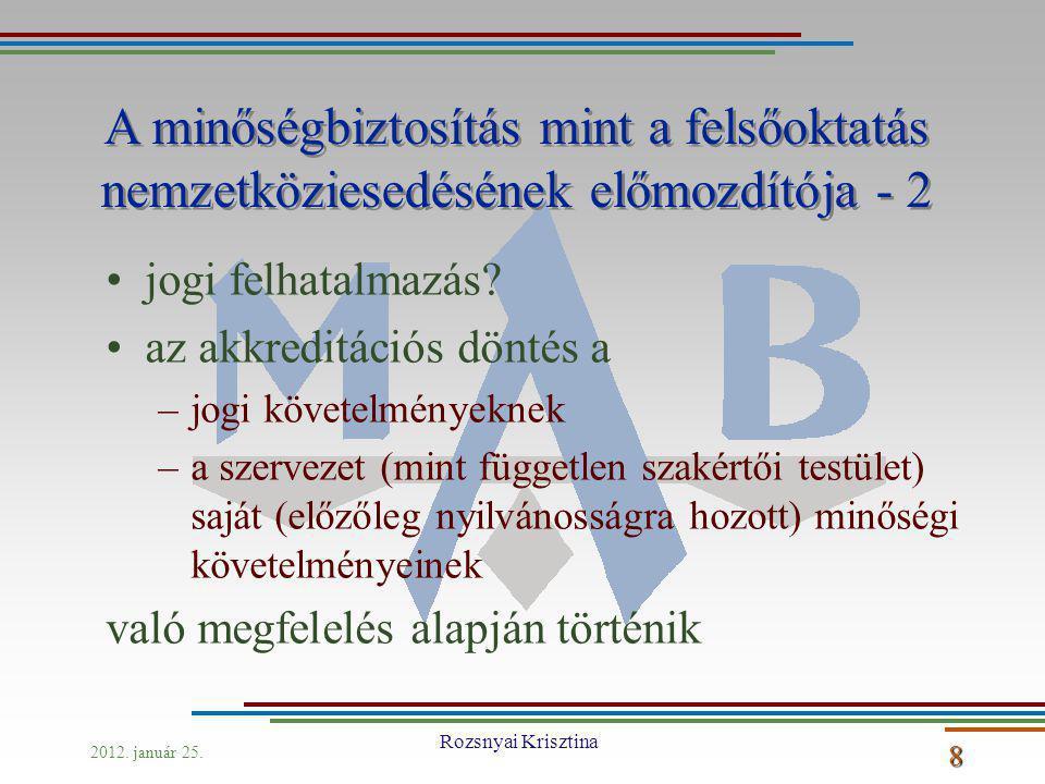 2012. január 25. Rozsnyai Krisztina 8 jogi felhatalmazás.