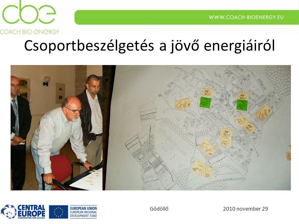 2010 november 29Gödöllő Csoportbeszélgetés a jövő energiáiról