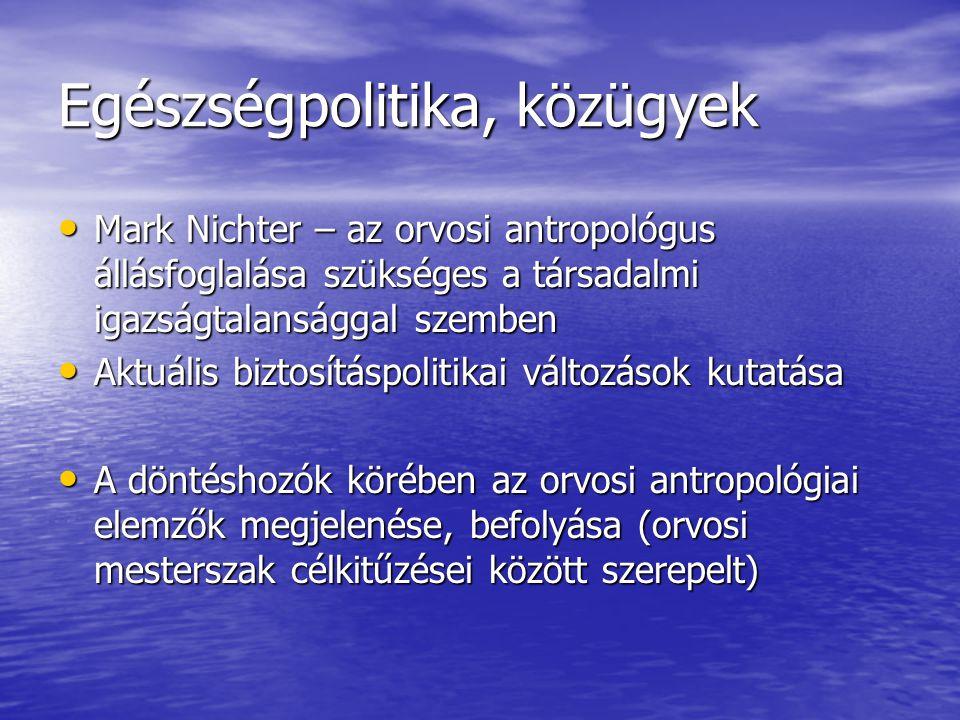 Szociális munka és az orv.ant.Szociális munka és az orv.ant.