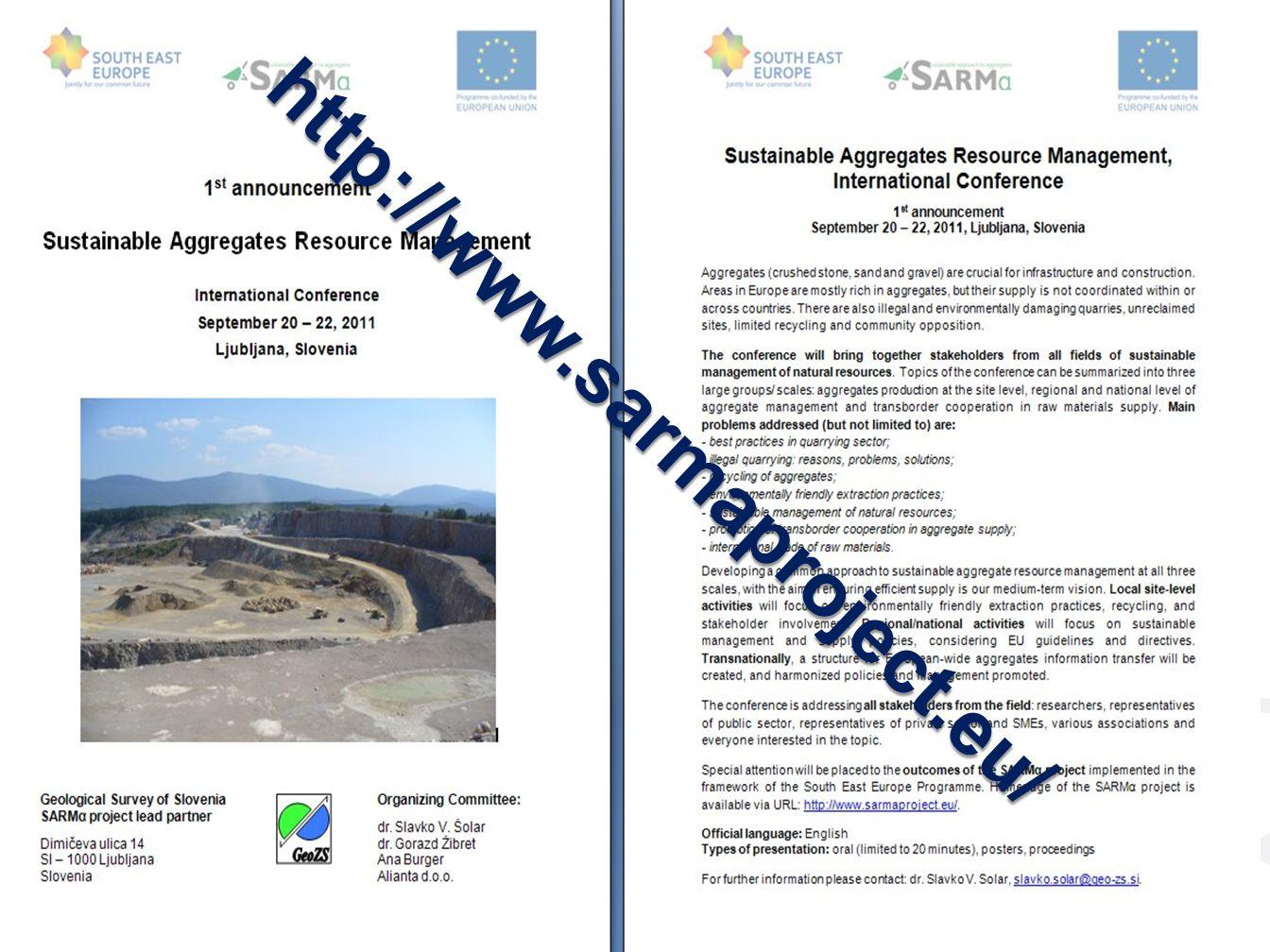 http://www.sarmaproject.eu/