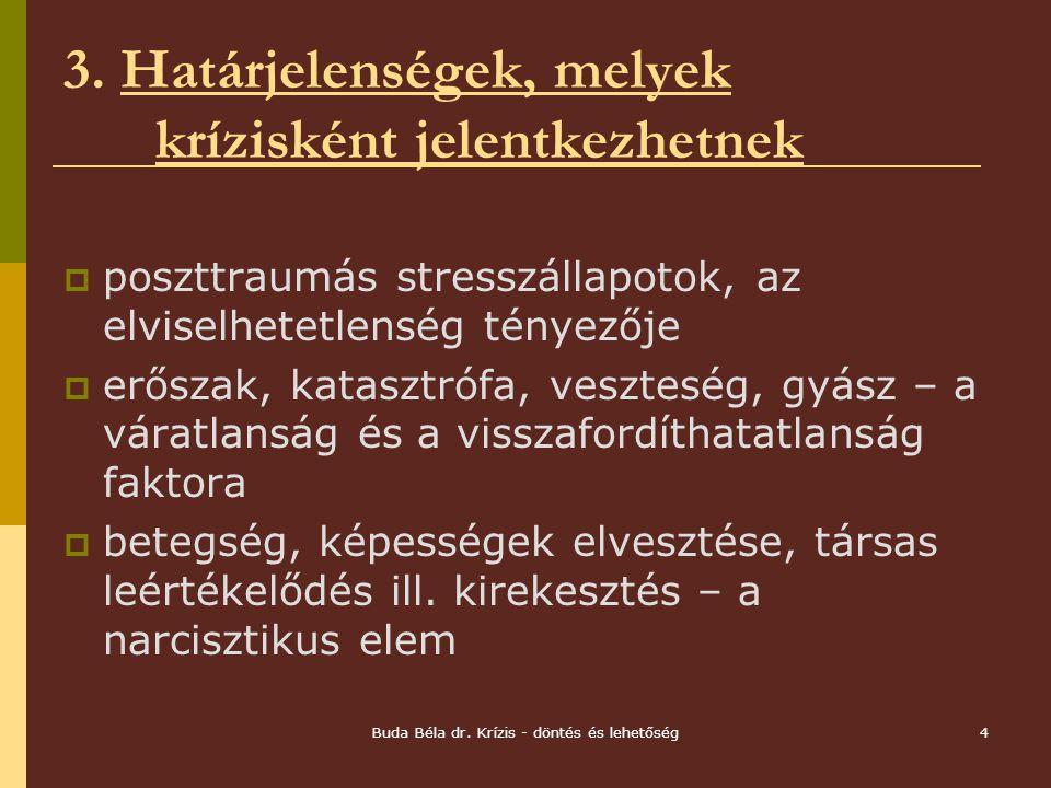 Buda Béla dr.Krízis - döntés és lehetőség4 3.