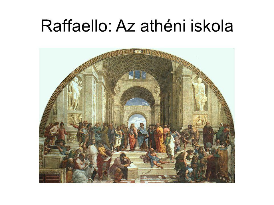 Raffaello: Az athéni iskola