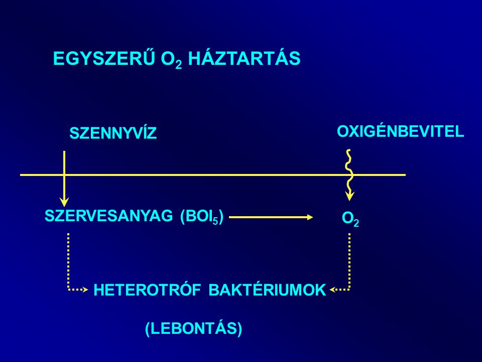 Folyóra Oldott oxigén (inhomogén lineáris diff.