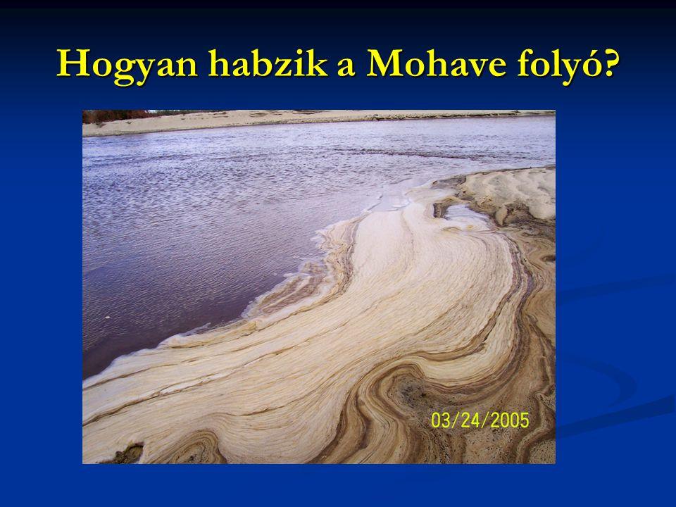 Hogyan habzik a Mohave folyó?