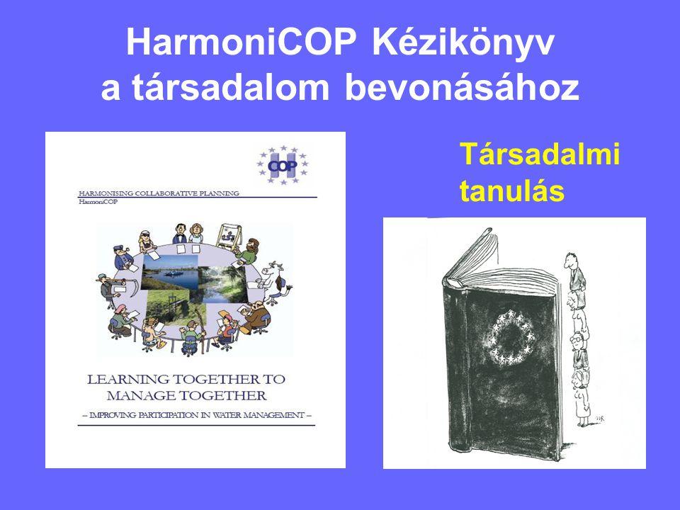 HarmoniCOP Kézikönyv a társadalom bevonásához Társadalmi tanulás