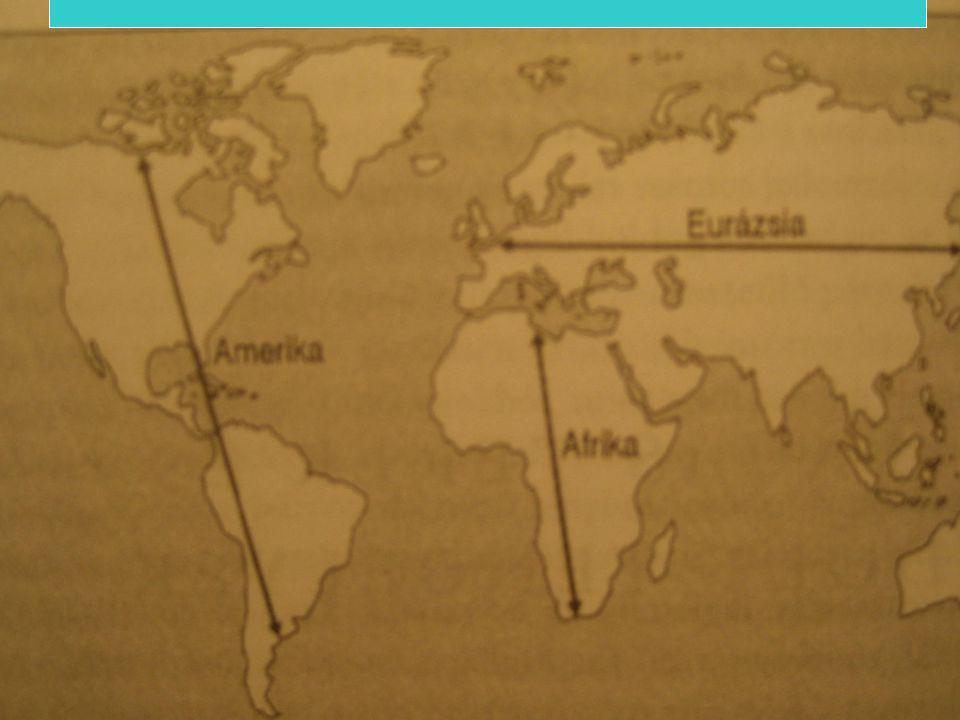A kontinensek nyitottsága és következményei
