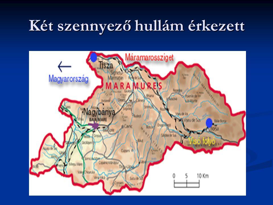 Románia 2000 telén Nehézfém szennyezés CN szennyezés
