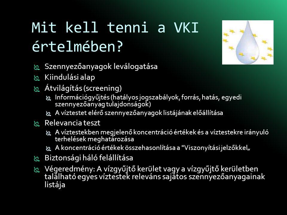 Mit kell tenni a VKI értelmében.