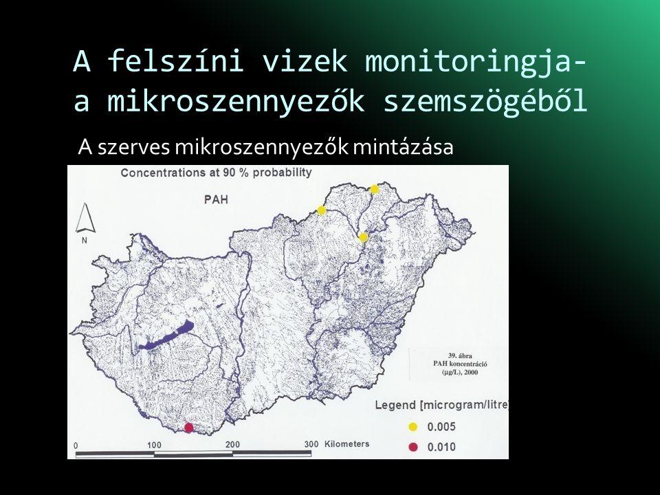 A felszíni vizek monitoringja- a mikroszennyezők szemszögéből A szerves mikroszennyezők mintázása