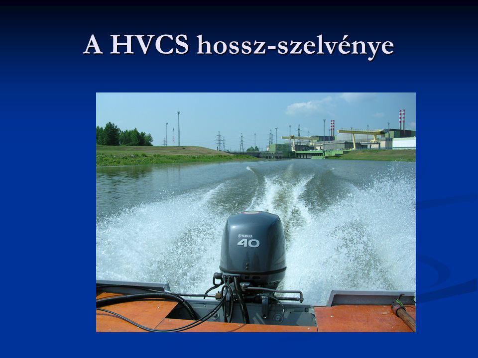 A HVCS hossz-szelvénye