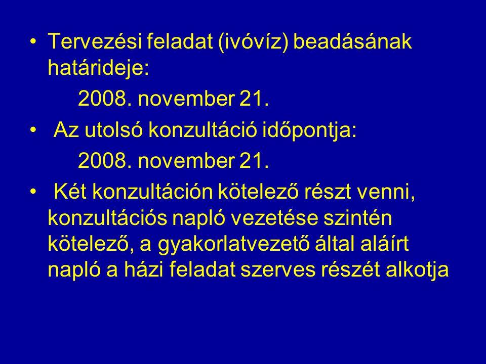 Szennyvíztisztítás Előadó: Melicz Zoltán Gyakorlatvezetők: Melicz Zoltán, Szabó Anita Időtartam: a hetedik és a tizennegyedik hét közötti időszak (2008.