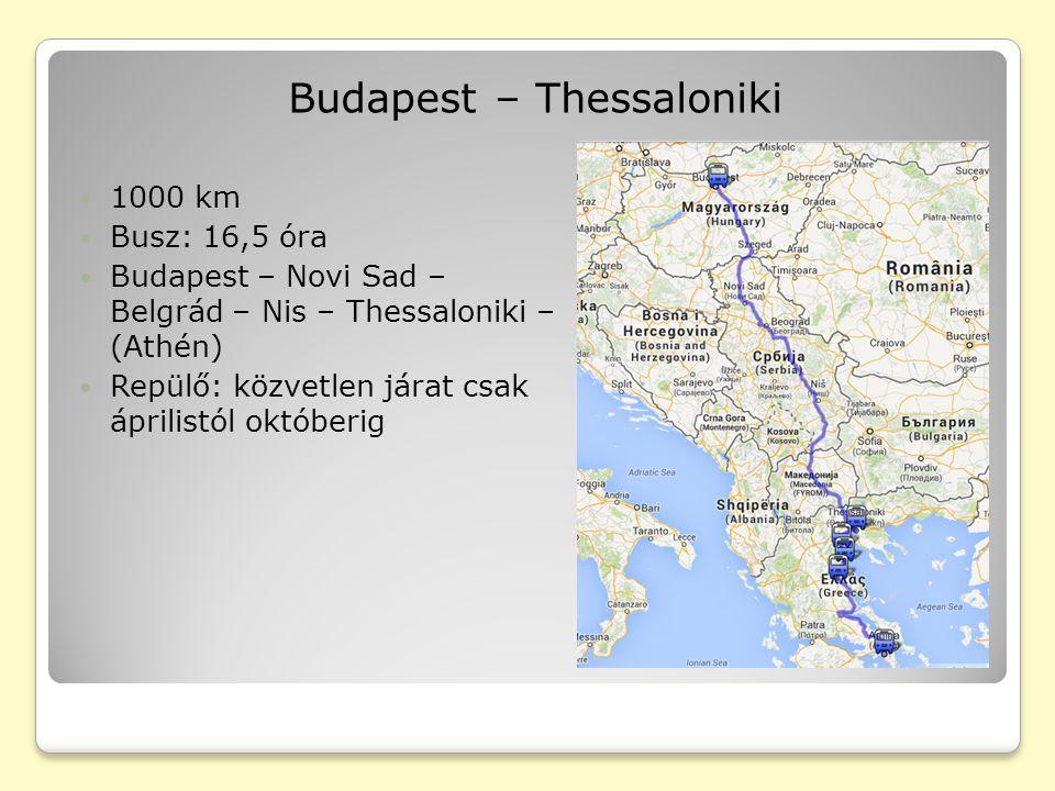 Thessaloniki Második legnagyobb város Görögországban Kb.