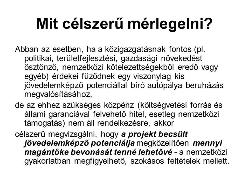 Mit célszerű mérlegelni. Abban az esetben, ha a közigazgatásnak fontos (pl.