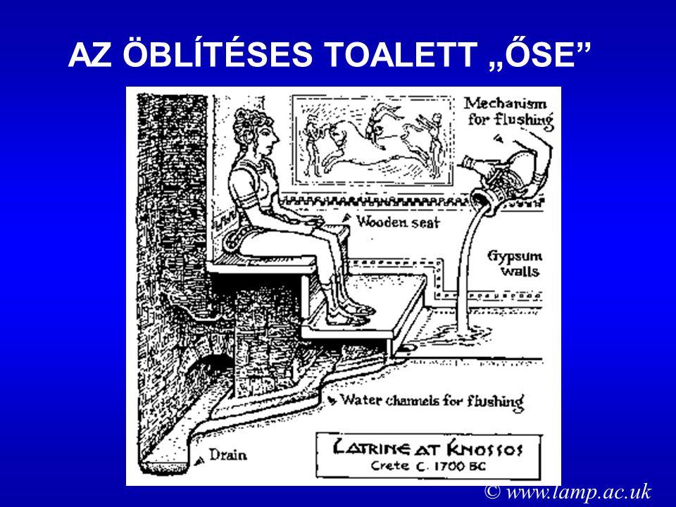 """AZ ÖBLÍTÉSES TOALETT """"ŐSE © www.lamp.ac.uk"""