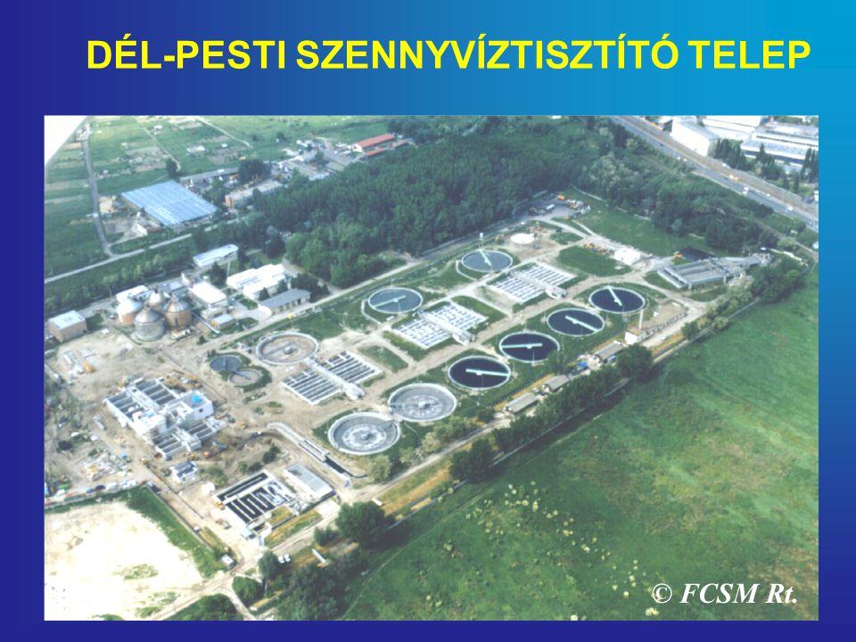 DÉL-PESTI SZENNYVÍZTISZTÍTÓ TELEP © FCSM Rt.