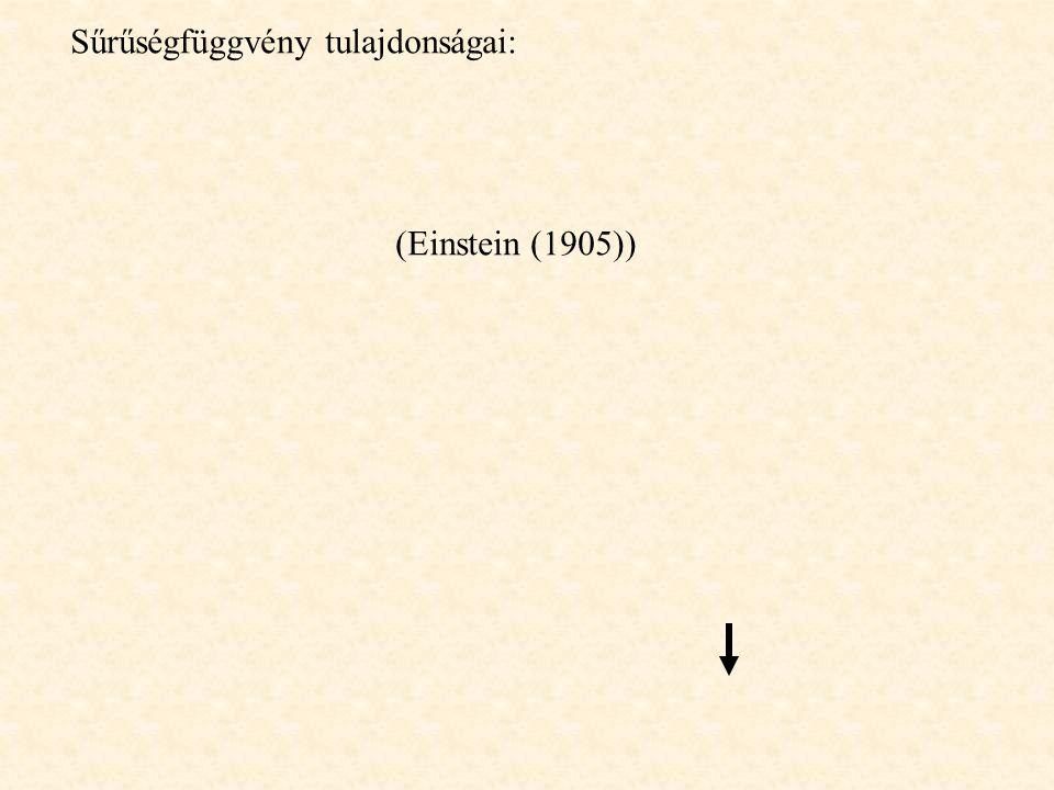 Egyensúlyi rendszerek -makroállapot fogalma: Mikroállapotok: hely (q) és impulzus (p) koordinátákon való eloszlás Urna-modell: pl.
