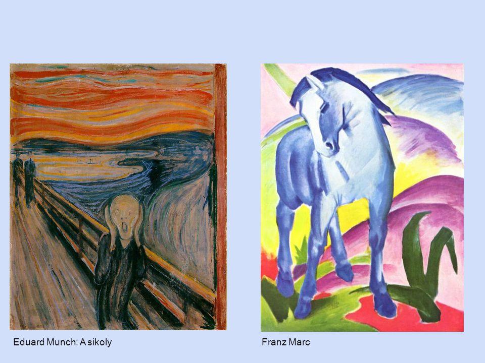 Eduard Munch: A sikolyFranz Marc
