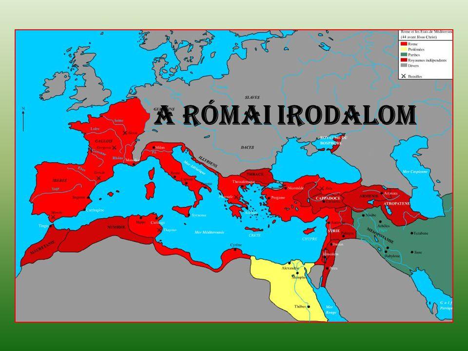A római irodalom