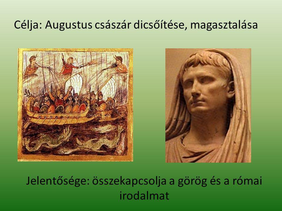 """Quintus HORATIUS Flaccus Carmenek (ódák) görög minta összesen 103 óda eszmei, tartalmi, hangnembeli változatosság bölcsesség, életszeretet, az idő múlása """"aureas mediocritas """"carpe diem"""
