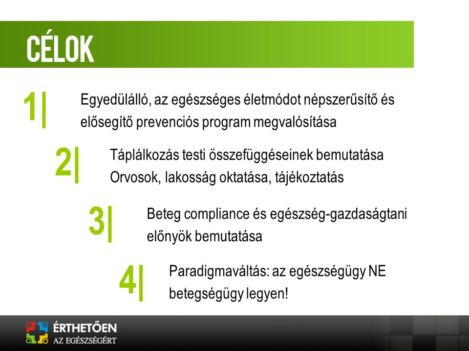 EREDMÉNYEK Szakmai információcsere Nagyszámú lakossági elérés Betegedukáció Civil szervezeti jelenlét