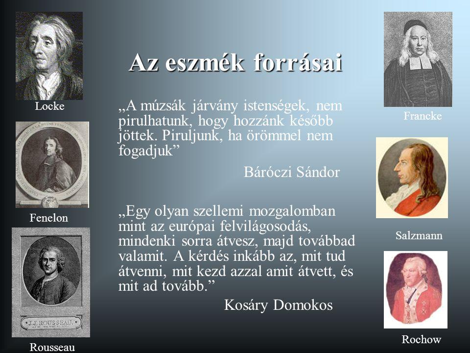 A jozefinizmus neveléspolitikája 1781- A Ratio Educationis megerősítése 1781 - Norma Regia- A Ratio érvényének kiterjesztése Erdélyre 1781.