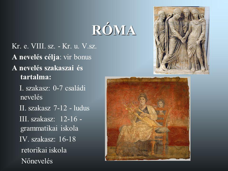 PLATON Pedagógiai gondolatokat is tartalmazó művei: Állam Törvények