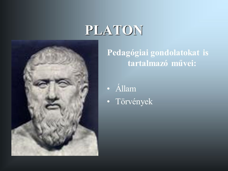 ARISZTOTELESZ Pedagógiai gondolatokat tartalmazó művei: Nikomakhoszi etika Politika