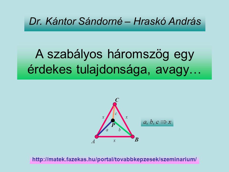 Matematika tanári szeminárium http://matek.fazekas.hu/portal/tovabbkepzesek/szeminarium/