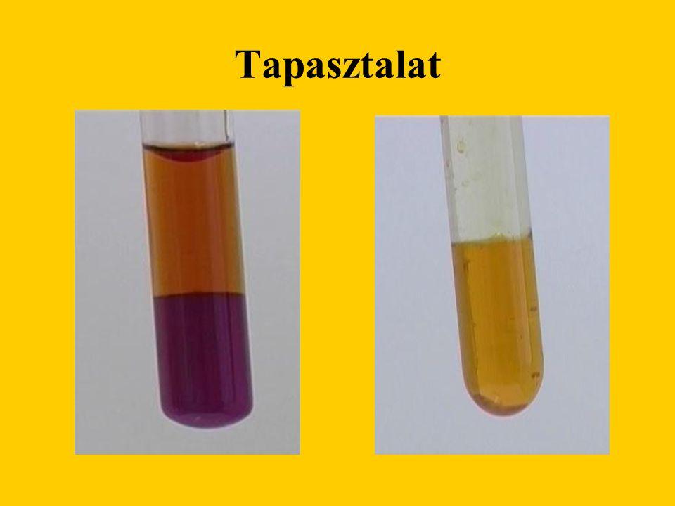 Magyarázat A gázfejlesztőben az alábbi reakció megy végbe: 2 KMnO 4 + 16 HCl = 2 MnCl 2 + 2 KCl + 5 Cl 2 + 8 H 2 O A klórgáz a KI ill.