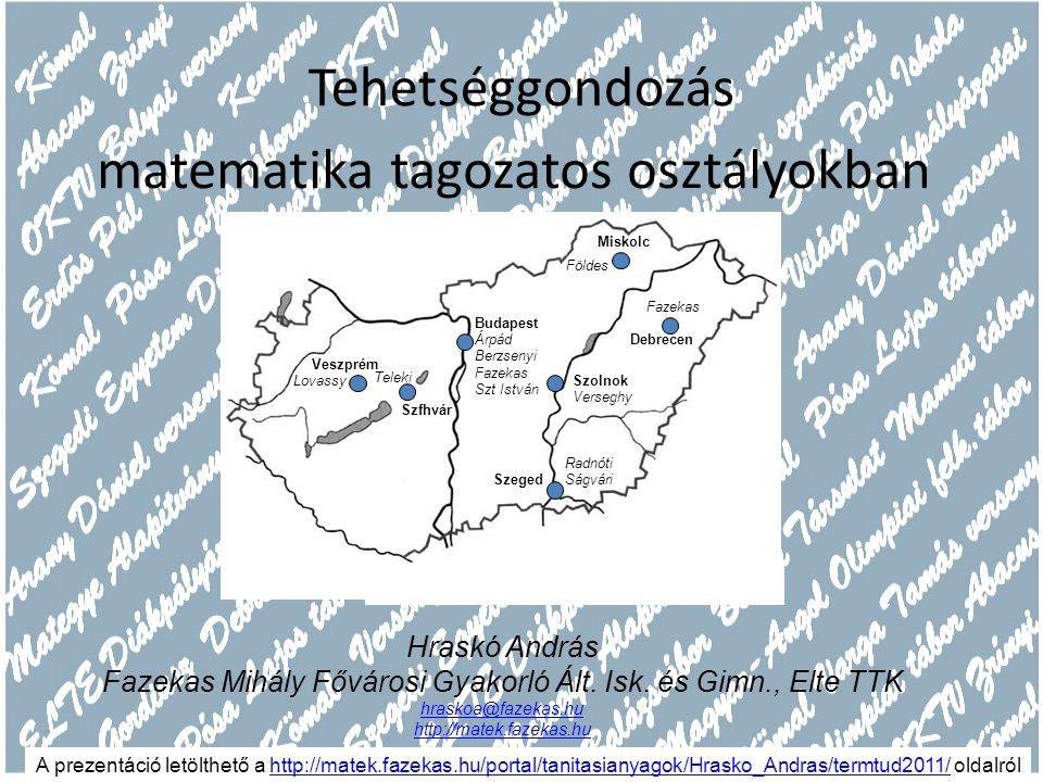 Varga Tamás (1919-1987) http://hu.wikipedia.org/wiki/Varga_Tamás_(tanár) Eredet I.