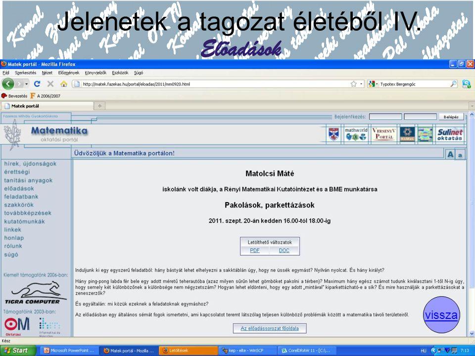 Köszönet Ambrus Gabriellának a felkérésért Dobos Sándornak és Surányi Lászlónak a felkészülésben nyújtott segítségért Hraskó András hraskoa@fazekas.hu http://matek.fazekas.hu A prezentáció letölthető a http://matek.fazekas.hu/portal/tanitasianyagok/Hrasko_Andras/termtud2011/ oldalrólhttp://matek.fazekas.hu/portal/tanitasianyagok/Hrasko_Andras/termtud2011/