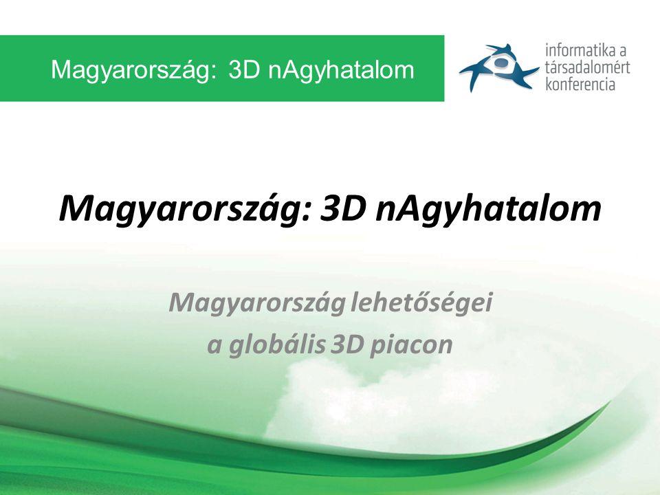 Magyarország: 3D nAgyhatalom Magyarország lehetőségei a globális 3D piacon