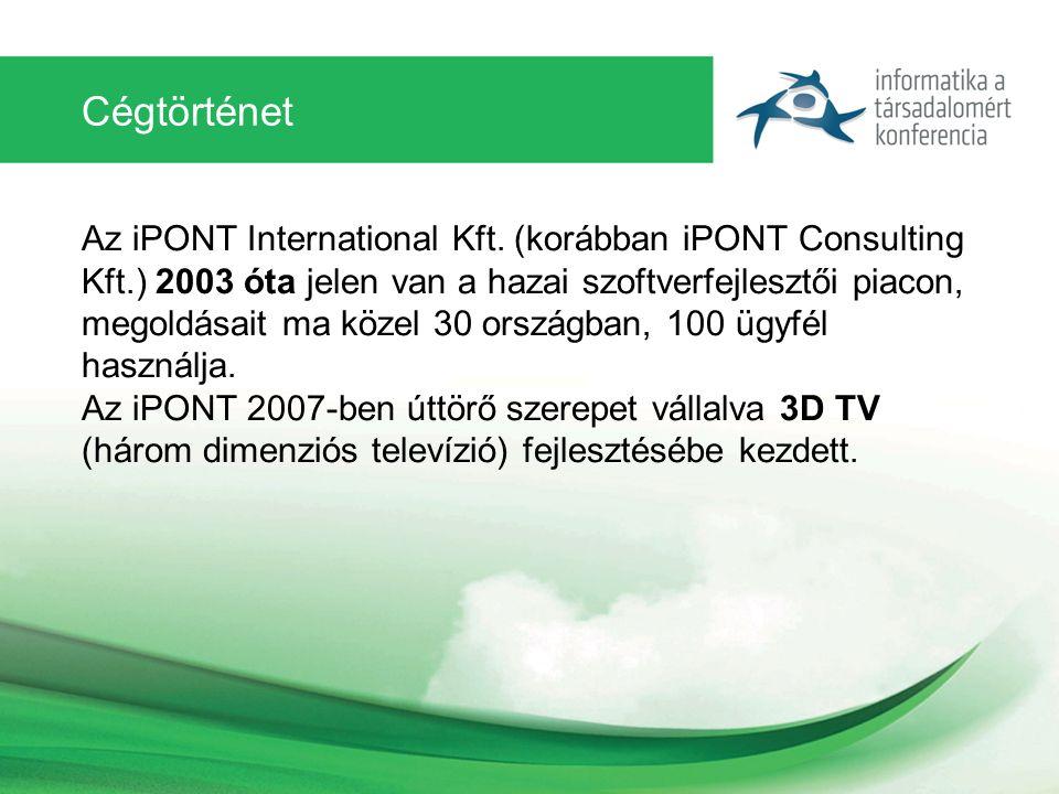 Cégtörténet Az iPONT International Kft.