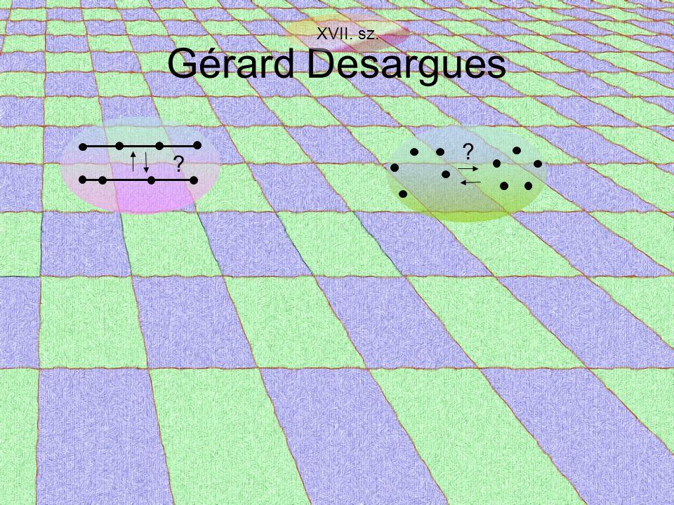 Gérard Desargues XVII. sz. ? ?